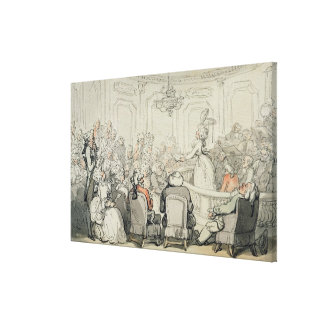 The Concert, from 'Scenes at Bath', c.1795-1800 (w Canvas Prints