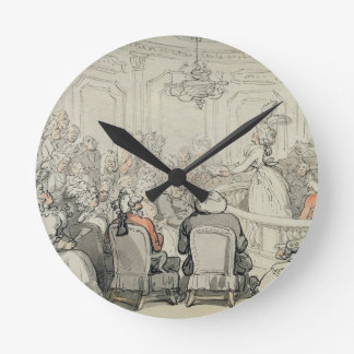 The Concert, from 'Scenes at Bath', c.1795-1800 (w Round Clock