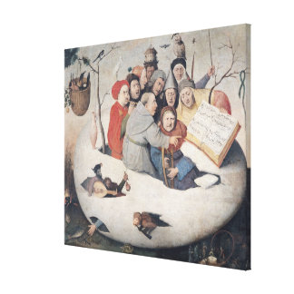 The Concert in the Egg Canvas Print