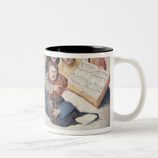 The Concert in the Egg Two-Tone Coffee Mug