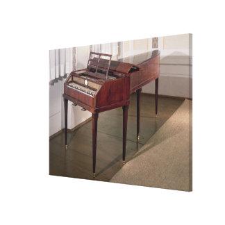 The concert piano of Franz Joseph Haydn Canvas Print