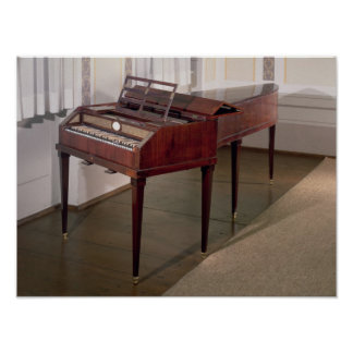 The concert piano of Franz Joseph Haydn Posters