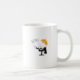 The Conductor Basic White Mug