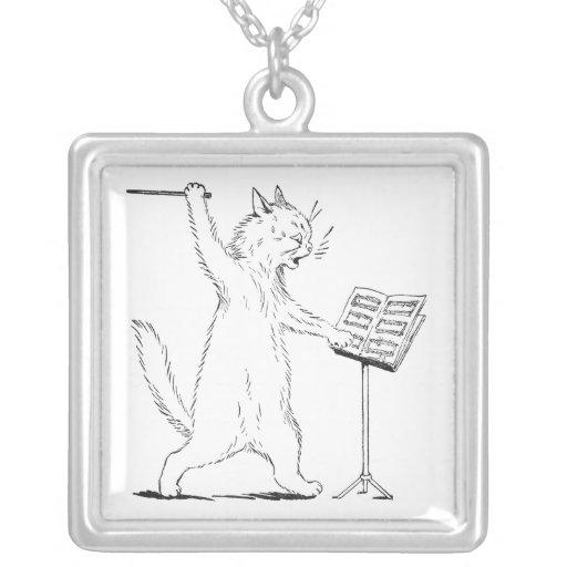 The Conductor Cat Pendants