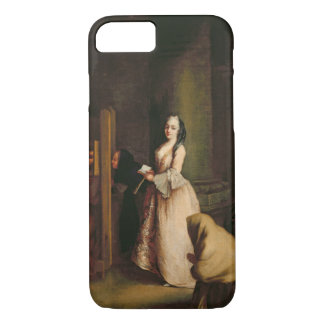 The Confession, c.1755 (oil on canvas) iPhone 8/7 Case