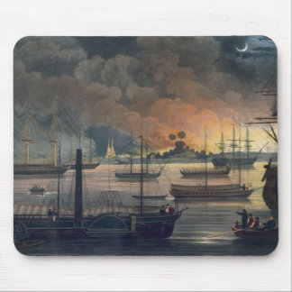 The Conflagration of Dalla on the Rangoon River, p Mouse Pad