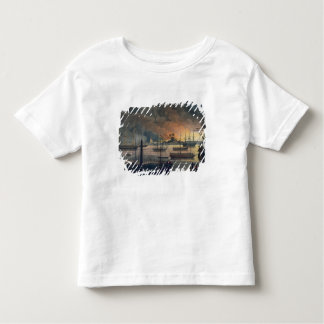 The Conflagration of Dalla on the Rangoon River, p Toddler T-Shirt