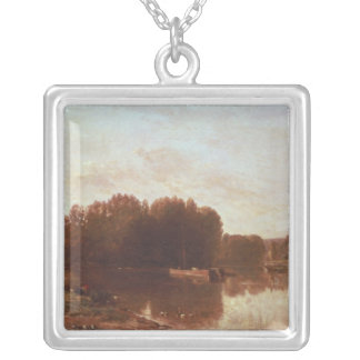 The Confluence Silver Plated Necklace