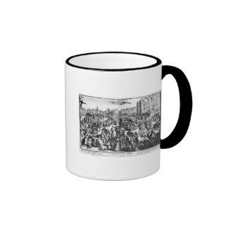 The Congestion in Paris Ringer Mug