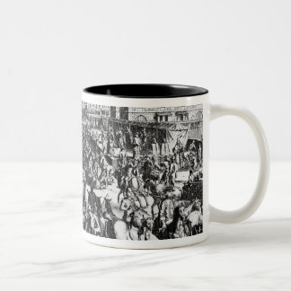 The Congestion in Paris Two-Tone Coffee Mug