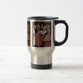 The Conjurer Detail. By Hieronymus Bosch Mugs