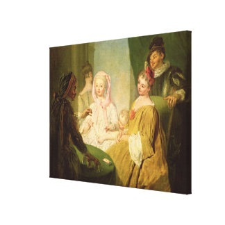The Conjuror, 1720-25 Stretched Canvas Prints