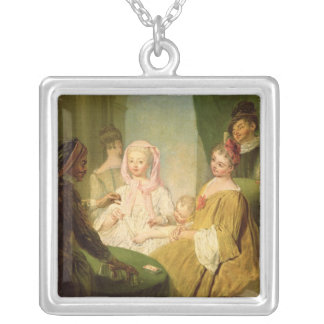 The Conjuror, 1720-25 Silver Plated Necklace