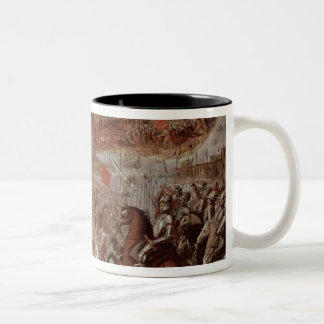 The Conquest of Tenochtitlan Two-Tone Coffee Mug