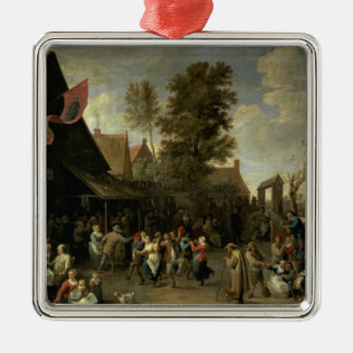 The Consecration of a Village Church, c.1650 Christmas Ornament