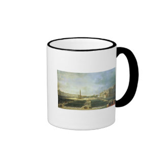 The Consecration of the Alexander Column Ringer Coffee Mug