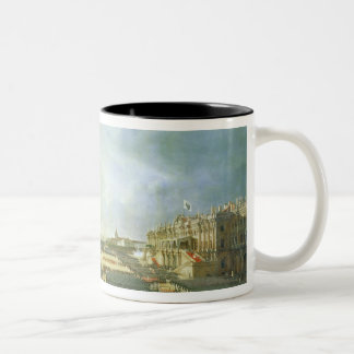 The Consecration of the Alexander Column Two-Tone Coffee Mug