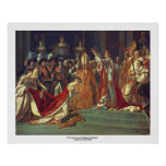 The Consecration of the Emperor Napoleon l Poster