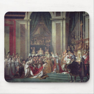 The Consecration of the Emperor Napoleon Mouse Mat