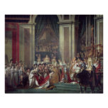 The Consecration of the Emperor Napoleon Poster