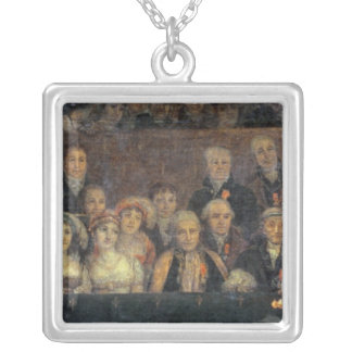 The Consecration of the Emperor Napoleon Silver Plated Necklace