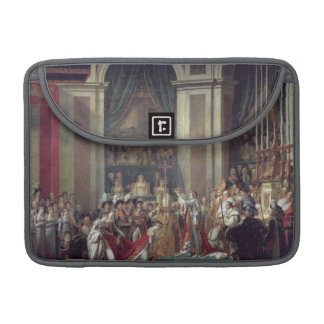 The Consecration of the Emperor Napoleon Sleeve For MacBooks