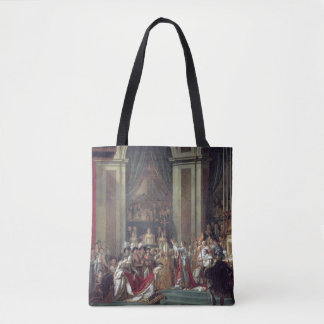 The Consecration of the Emperor Napoleon Tote Bag