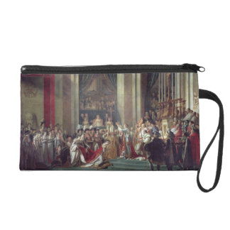 The Consecration of the Emperor Napoleon Wristlet Purse
