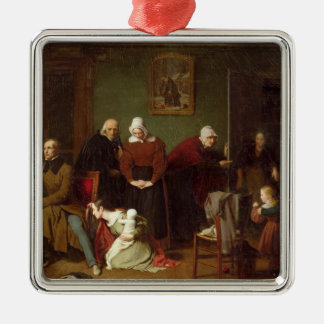 The Consequences of the Seduction, 1824 Christmas Ornament
