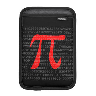 The Constant Pi iPad Mini Sleeve
