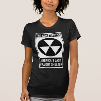 The Constitution - America s Last Fallout Shelter T-shirts