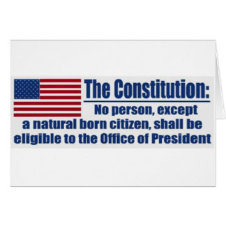 The Constitution Says.... Greeting Card