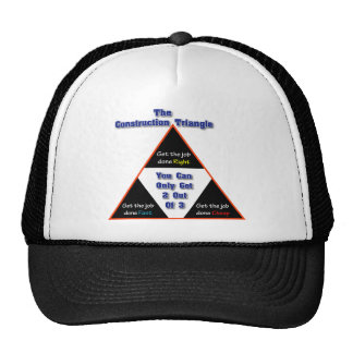 The Construction Triangle Cap