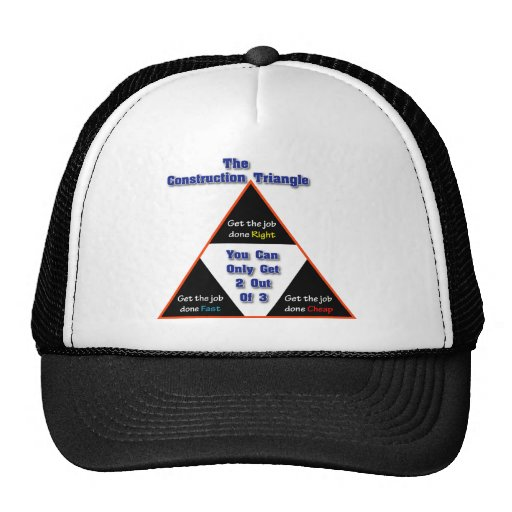 The Construction Triangle Mesh Hats