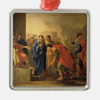 The Continence of Scipio, 1640 Christmas Ornament