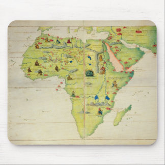 The Continent of Africa Mouse Mat