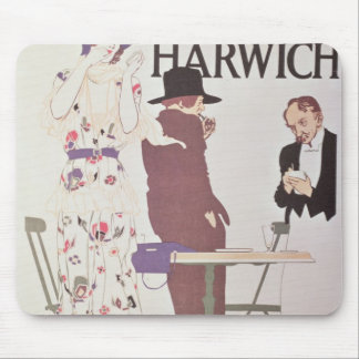 The Continent Via Harwich Mouse Mat