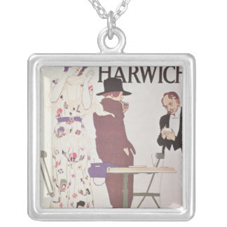 The Continent Via Harwich Silver Plated Necklace