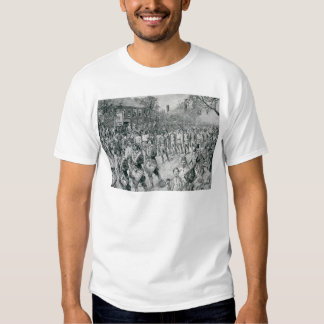 The Continental Army Marching Down the Old T-Shirt