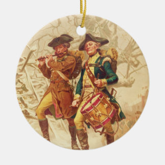 The Continentals by Frank Blackwell Mayer 1875 Christmas Ornament