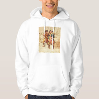 The Continentals by Frank Blackwell Mayer 1875 Hoodie