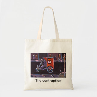 (The contraption Bag) Budget Tote Bag