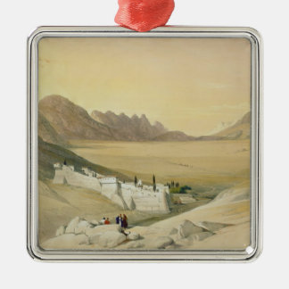 The Convent of St. Catherine, Mount Sinai Christmas Ornament