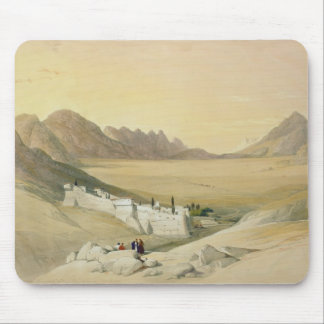 The Convent of St. Catherine, Mount Sinai Mouse Mat