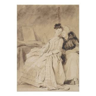 The Conversation by Fragonard Personalized Invites