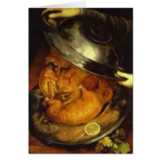 The Cook - 1570 Card