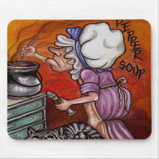 THE COOK Alice in Wonderland Mouse Pad