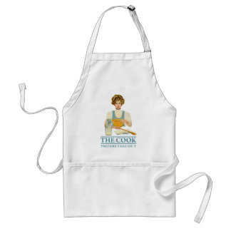 The Cook Prefers Take-out Apron