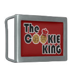 The Cookie King Belt Buckle