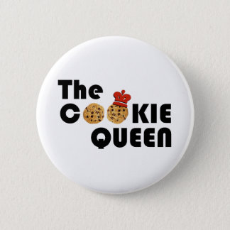 The Cookie Queen Button
